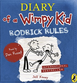 diary of a wimpy kid Book 2: Rodrick Rules