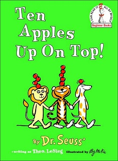 Dr seus - ten app;es up on top