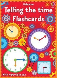 flash cards numbers and tell the time