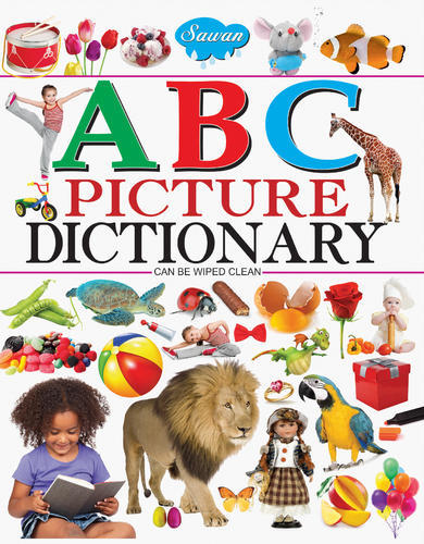 kids board book - ABC picture dictionary