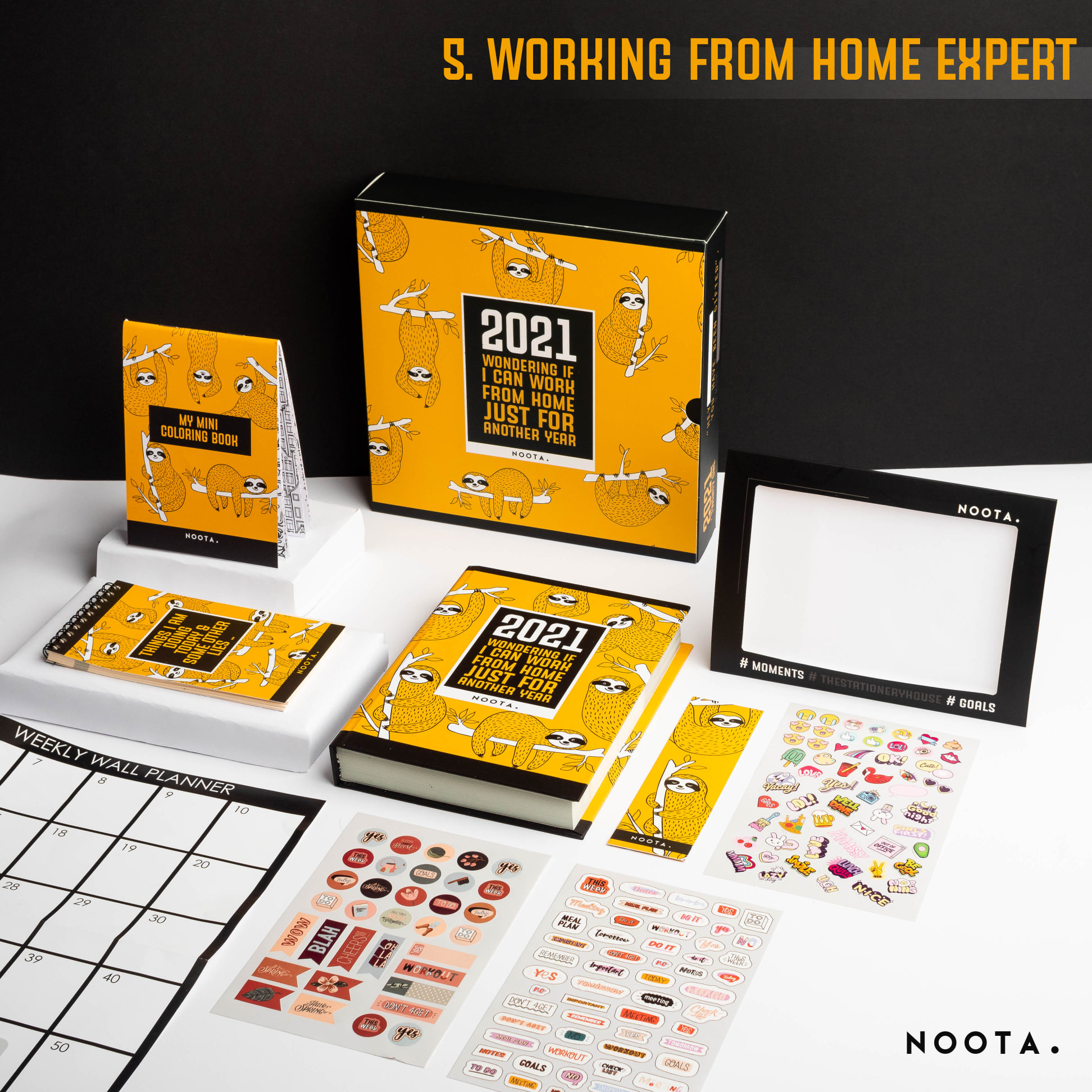 Noota - 2021 - Wondering If I Can Work From Home just for Another years
