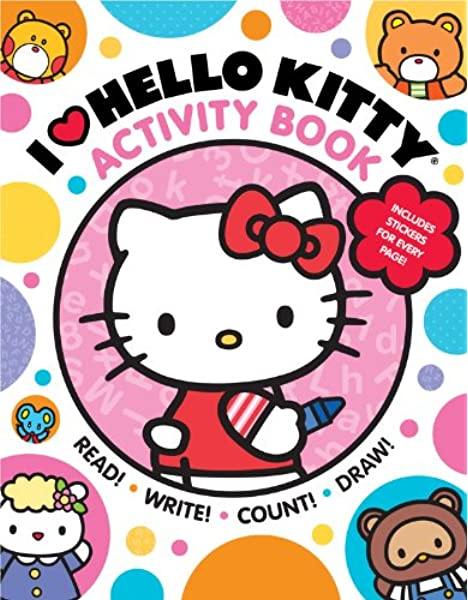 play with us activity book - hello kitty